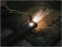 Технология газовой резки металла фото
